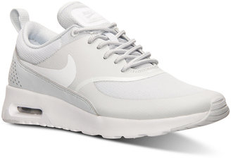 Nike Women's Air Max Thea Running Sneakers from Finish Line $89.99 thestylecure.com