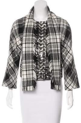 Dolce & Gabbana Shawl Collar Long Sleeve Jacket