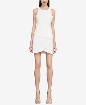 BCBGMAXAZRIA Ely Lace-Up-Back Halter Dress