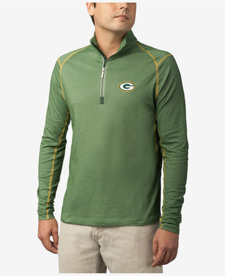 Tommy Bahama Men's Green Bay Packers Double Eagle Half-Zip Sweater $118 thestylecure.com