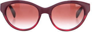Paul Smith Aberdeen Gradient Sunglasses $75 thestylecure.com