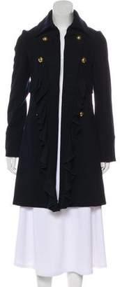 Sunner Wool-Blend Knee-Length Coat
