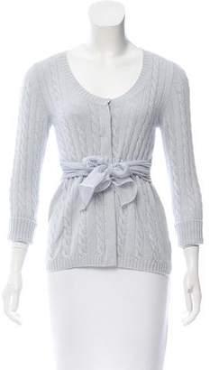 Brunello Cucinelli Cable Knit Cashmere Cardigan