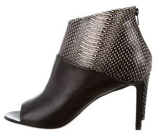 Maison Margiela Embossed Ankle Boots w/ Tags