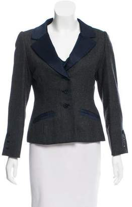 Oscar de la Renta Notch-Lapel Blazer Set