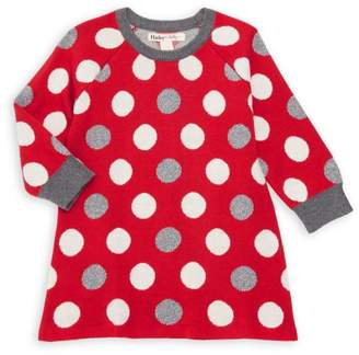 Hatley Baby Girl's Holiday Dot Sweater Dress