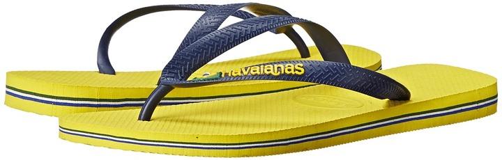 Havaianas Brazil Logo Flip Flops