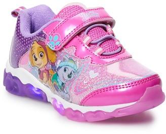 Paw Patrol Skye & Everest Toddler Girls' Light Up Sneakers