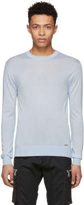 DSQUARED2 Blue Cashmere Sweater