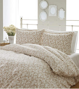 Laura Ashley King Victoria Taupe Duvet Set Bedding