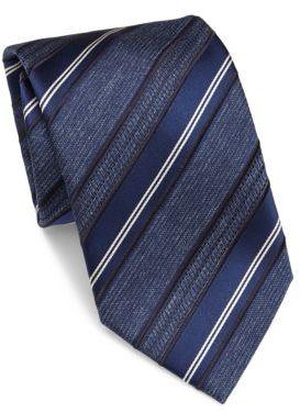BrioniBrioni Striped Silk Tie