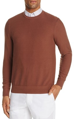 Michael Kors Textured Cotton Crewneck Sweater - 100% Exclusive $98 thestylecure.com