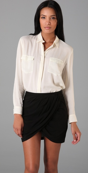 Cheap Monday Daria Button Up Blouse
