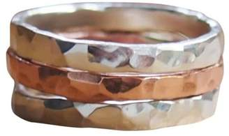 Elena Jewelry Concepts Stackable Silver II Copper I