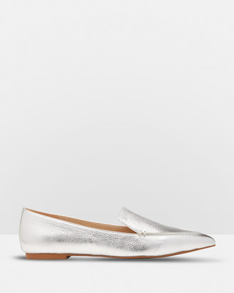 Oxford Rose Leather Loafers