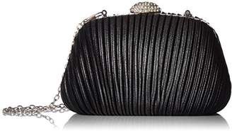 Jessica McClintock Brianna Hard case Pleated Clutch