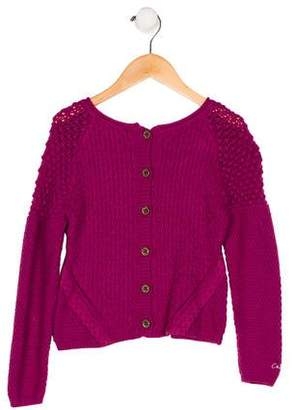 Catimini Girls' Knit Appliqué-Accented Top