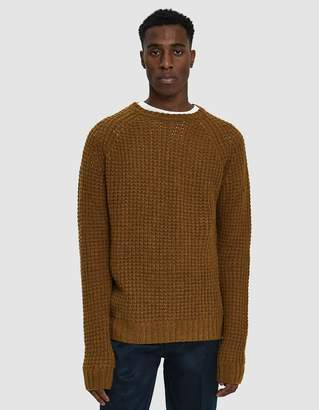 Saturdays NYC Miguel Waffle Knit Sweater