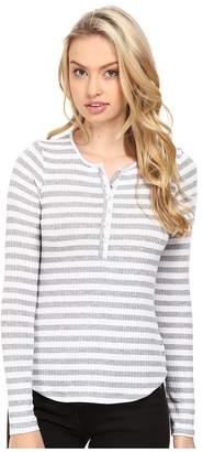 LAmade Lou Henley Top Women's Long Sleeve Pullover