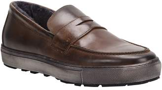 Matteo Ross & Snow Genuine Shearling Loafer Sneaker