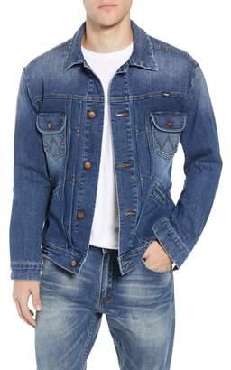 Wrangler Heritage Pleated Denim Jacket