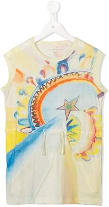 Stella McCartney Carrie Rainbow print dress