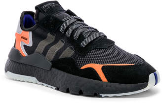 adidas Nite Jogger in C Black & Carbon & ACT Blue | FWRD