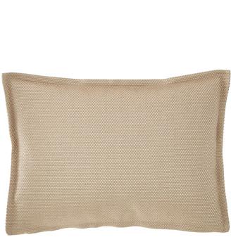 Fino Lino Linen & Lace Trackstar Decorative Oblong Pillow