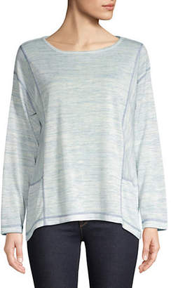 Jones New York Wide Paneled Top