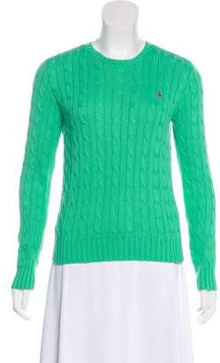 Ralph Lauren Long Sleeve Cable Knit Sweater