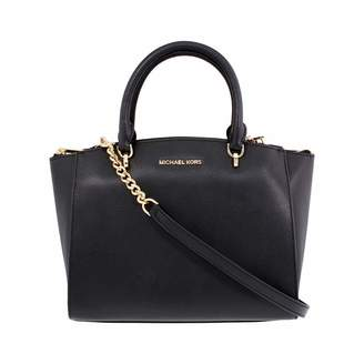 MICHAEL Michael Kors Women's ELLIS LARGE Satchel Leather Handbag