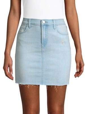 J Brand Lyla Denim Mini Skirt