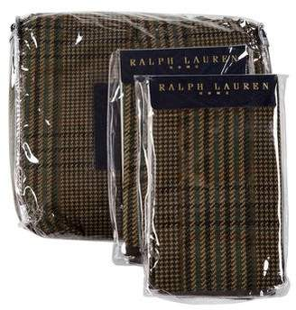 Ralph Lauren 3-Piece Eccleston King Comforter Cover & Standard Sham Set w/ Tags