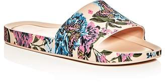 Melissa Butterfly Pool Slide Sandals $85 thestylecure.com