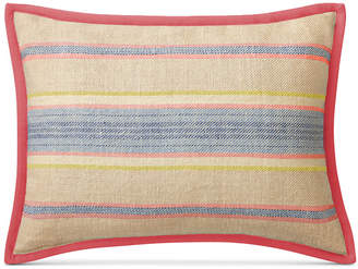 "Lauren Ralph Lauren Cayden Ticking-Stripe 15"" x 20"" Decorative Pillow Bedding"