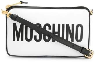 Moschino logo cross body bag