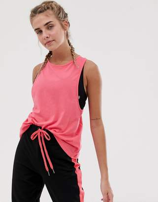 South Beach training vest in pink