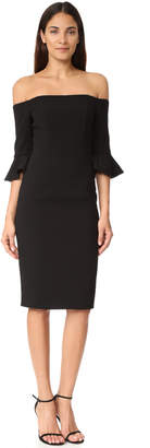 Black Halo Madigan Sheath Dress $345 thestylecure.com