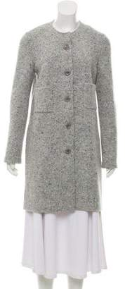 Amina Rubinacci Knit Wool Coat