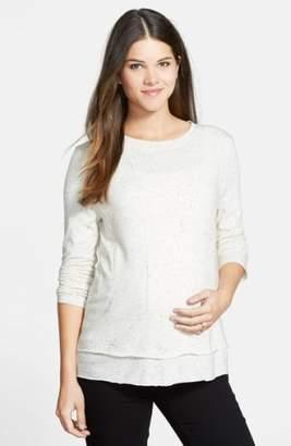 Loyal Hana 'Christy' Long Sleeve Maternity/Nursing Top