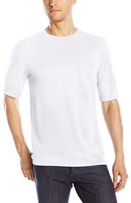 Michael Stars Men's Short Sleeve Bamboo Jersey Crew Neck Pocket T-Shirt