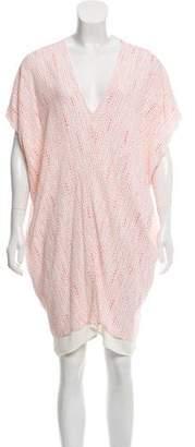 Hatch Printed Dolman Dress