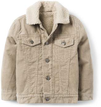 Crazy 8 Crazy8 Toddler Sherpa Corduroy Jacket