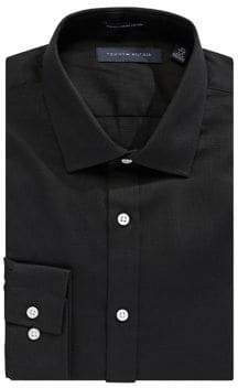 Tommy Hilfiger Slim-Fit Woven Dress Shirt