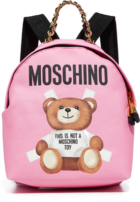 Moschino Backpack $695 thestylecure.com