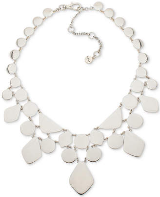 """DKNY Gold-Tone Sculptural Statement Necklace, 16"""" + 3"""" extender, Created for Macy's"""