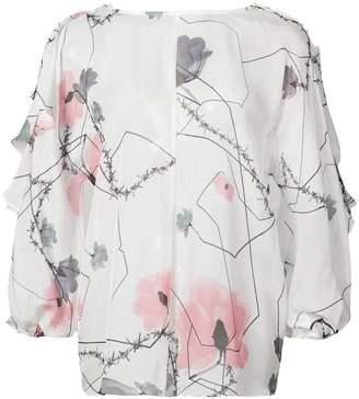 Thomas Wylde Foxglove blouse