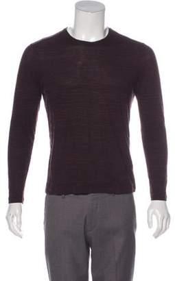 John Varvatos Striped Long Sleeve T-Shirt black Striped Long Sleeve T-Shirt