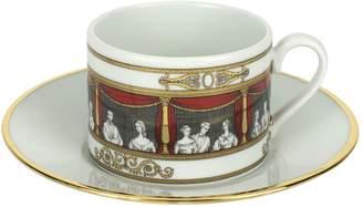 Fornasetti Don Giovanni Tea Cup & Saucer Set