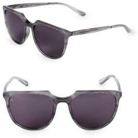 53MM Aviator Sunglasses